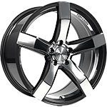 TN11 8 5JX18 ET42 5X114.3 DARK GUNMETAL MIRROR POL