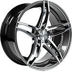 TN12 8 5JX18 ET30 5X112 DARK HYPER BLACK POLISHED
