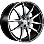 TN10 8.5X18 ET30 5X100 GUNMETAL POLISHED